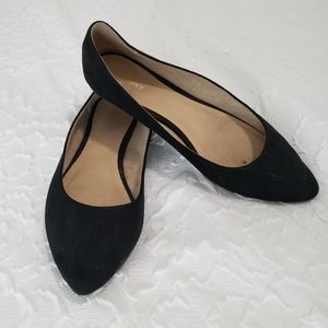 Old Navy Black Pointed Flats Size 9.5